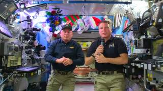 Space Station Crew Members Discuss Life in Space with CNN and the US Navy