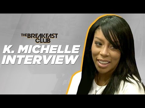 K Michelle Interviews With The Breakfast Club  and Lets It All Out!!