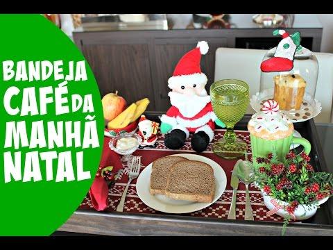 BANDEJA DE CAFÉ DA MANHÃ - ESPECIAL NATAL