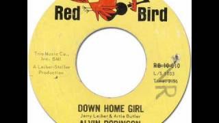 ALVIN ROBINSON - DOWN HOME GIRL [Red Bird 10-010] 1964