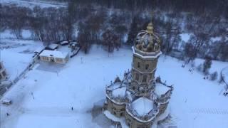 видео Знаменская церковь (Дубровицы) - уникальный памятник архитектуры