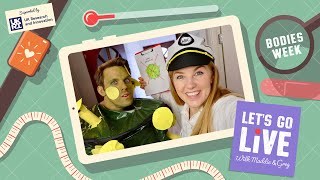 What makes us sick? Germs & The Immune System (with UKRI) | #79 Let's Go Live with Maddie & Greg
