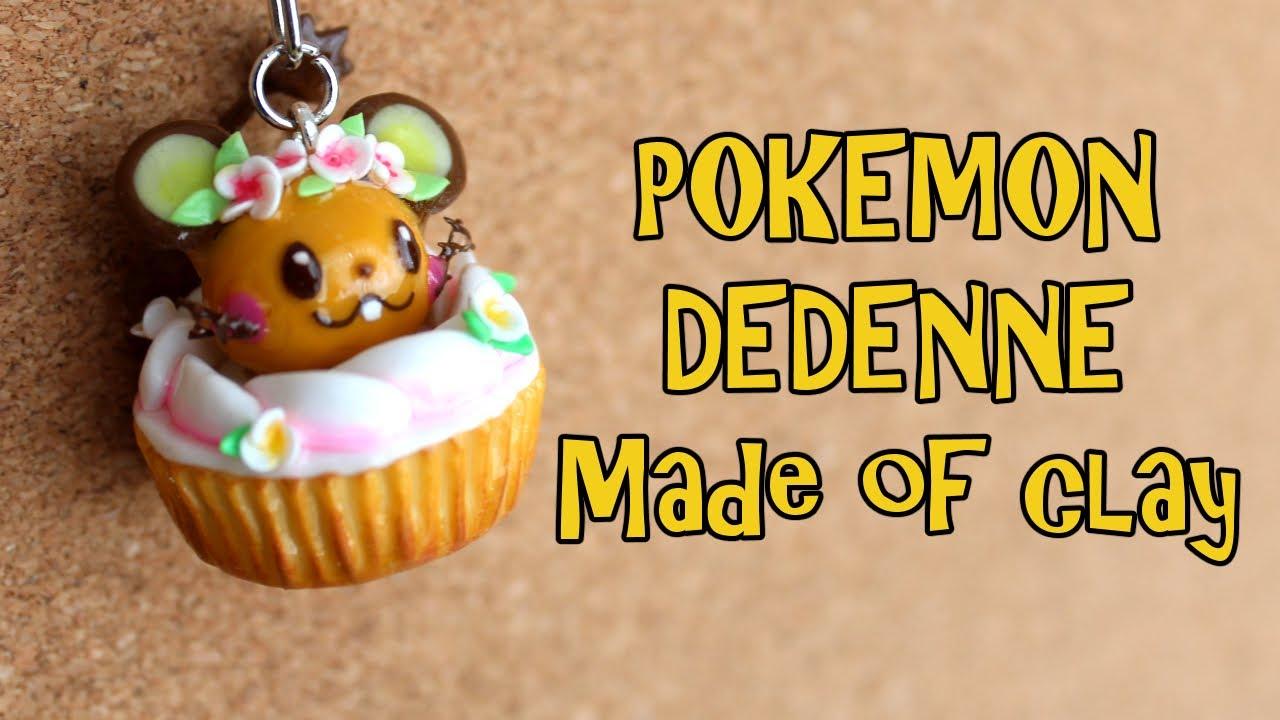 【ポケモン】粘土でデデンネのキーホルダーを作ってみた【作り方解説】
