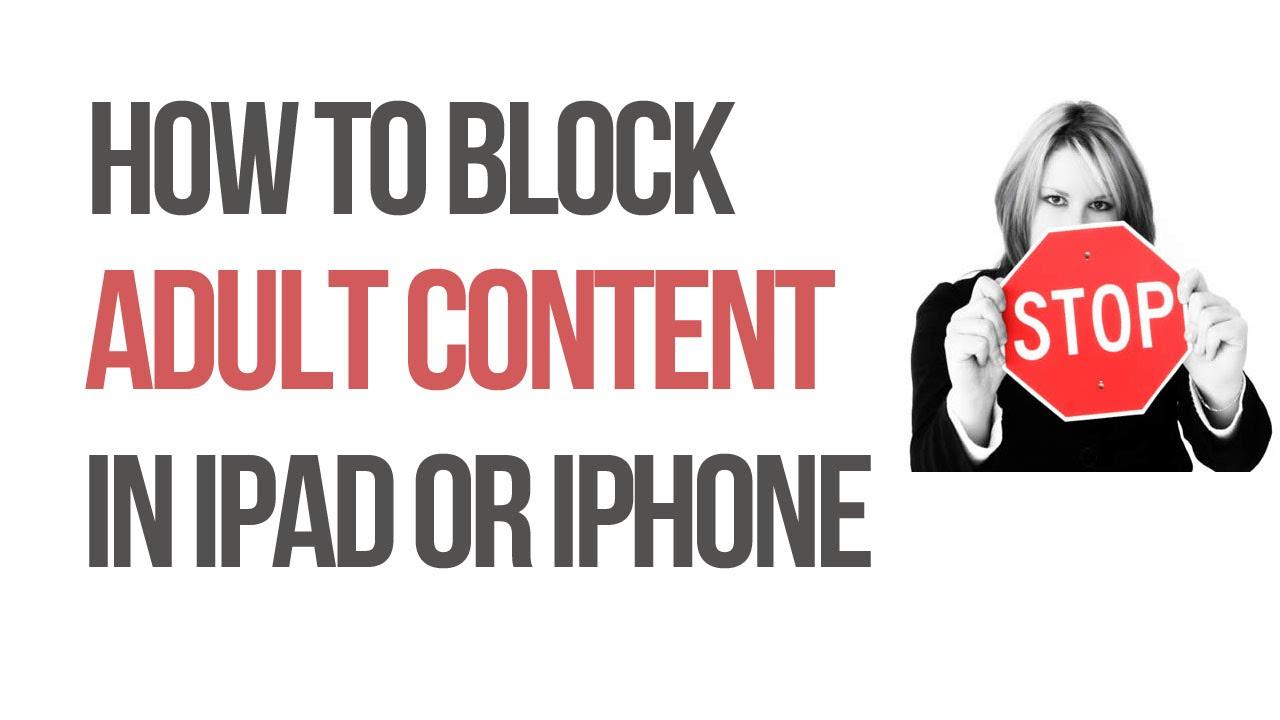 Adult content blocking