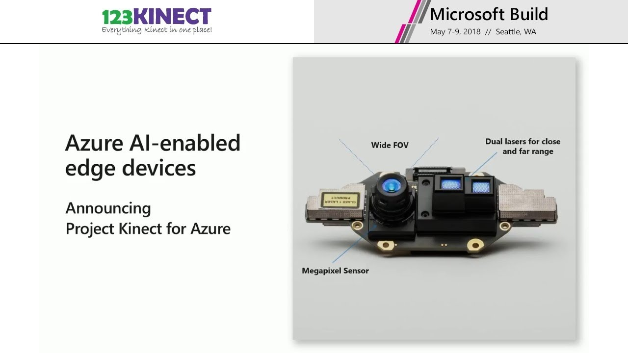 First Images Captured by Microsoft's Project Kinect for Azure