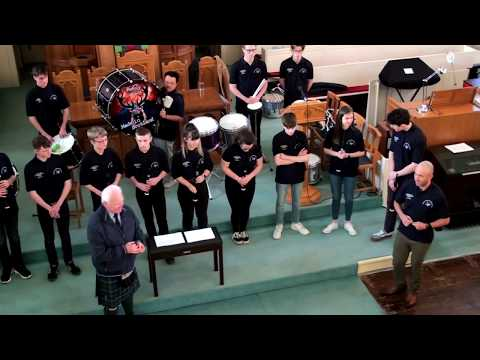 South West Of Scotland Piping And Drumming Academy At Kirkcudbright Parish Church 01 2019