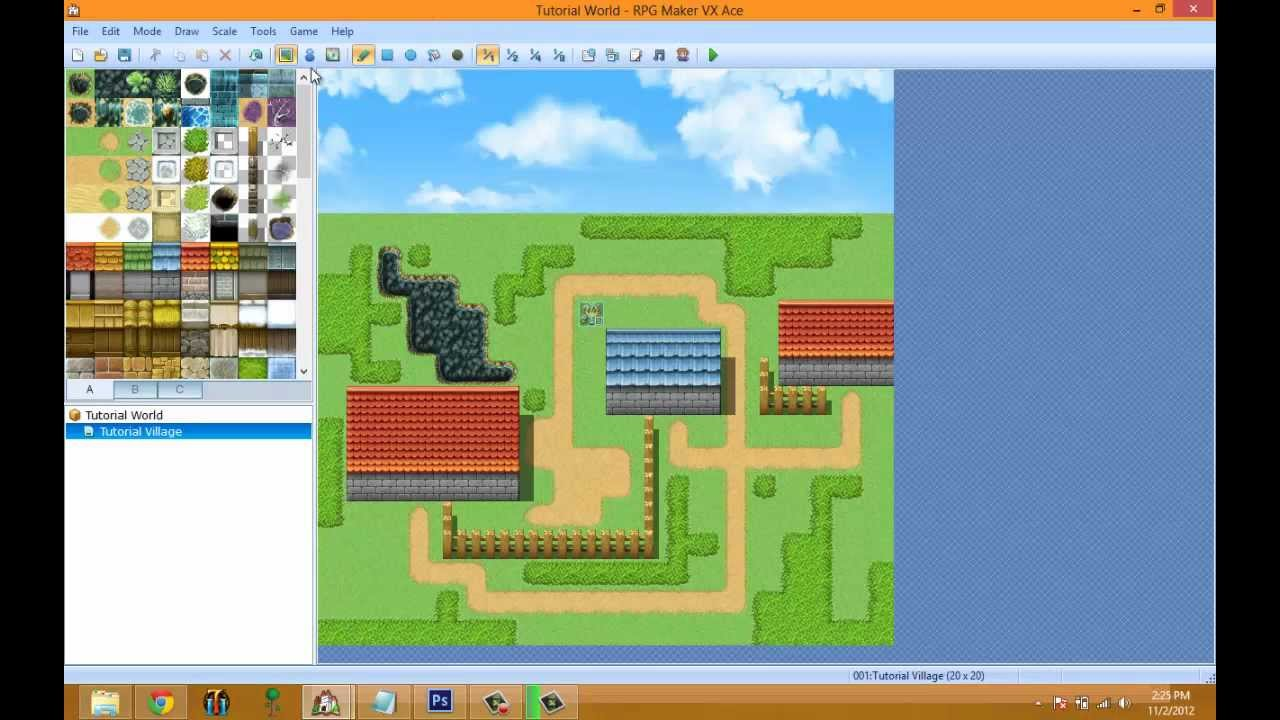 RPG Maker VX Ace Video Tutorial EP 3: Maps And Regions