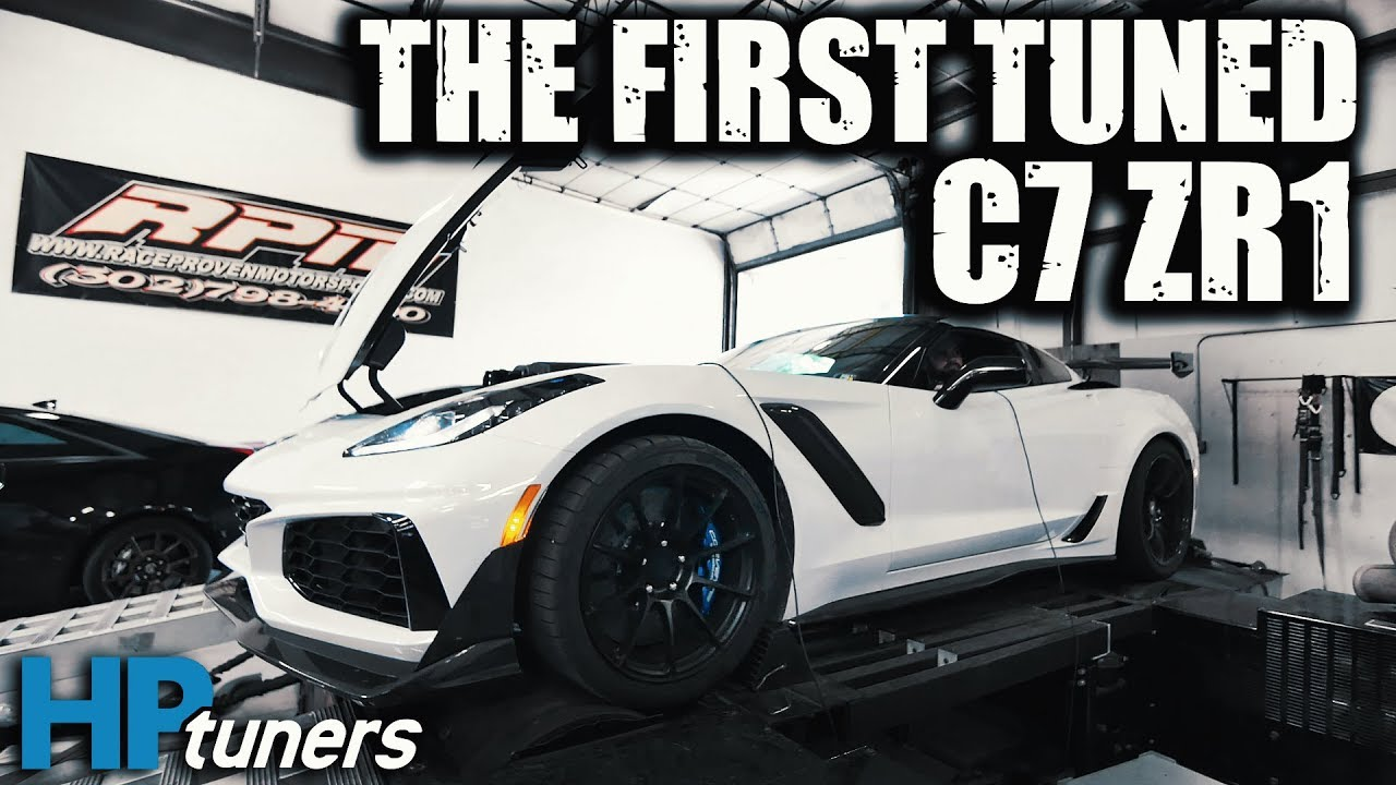 First-Ever Tuned C7 Corvette ZR1 Makes Impressive Power Gains