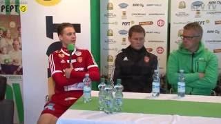 KPV - FC Jazz su 14.8.2016 - Lehdistötilaisuus