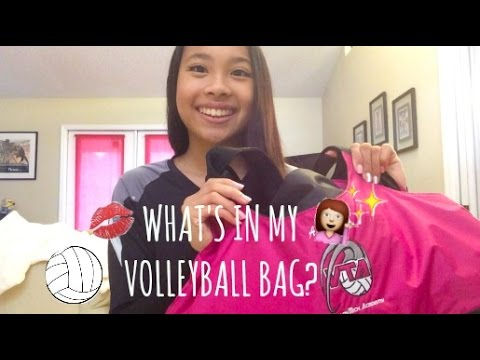 What's In My Volleyball Bag?! || BeautybyAndi