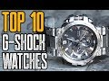 TOP 10: NEW Casio G Shock Watches (2019)!