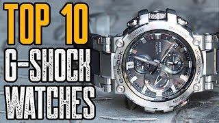 TOP 10: NEW Casio G Shock Watches (2019)!