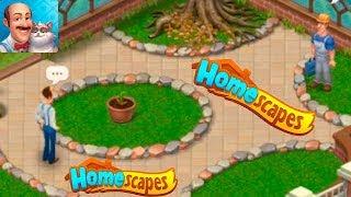 HomeScapes Дворецкий Остин #54 (уровни 312-317) Новая Дорожка Детское Видео Мультик по игре