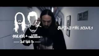 Steve Aoki & Louis Tomlinson - Just Hold On [Behind The Scenes]