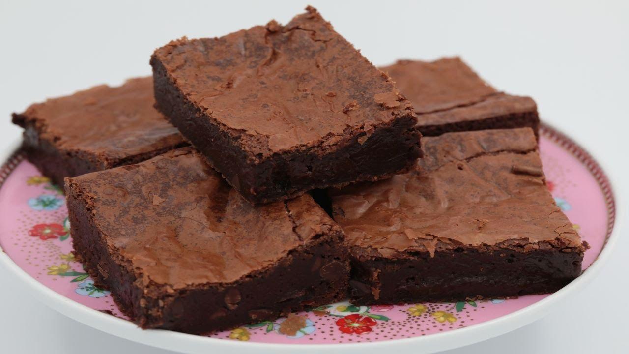 براونيز الشوكولاته وصفة مضمونة وناجحة ١٠٠ سهلة وسريعة التحضير Youtube