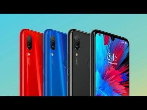 Сравнение внешнего вида Redmi Note 7 Blue Vs Red Vs Black