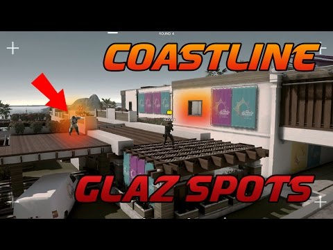 Rainbow Six Siege Tipps und Tricks: Coastline GLAZ Spots (WiM #38)