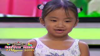 Little Miss Philippines 2019 - Question and Answer | July 15, 2019
