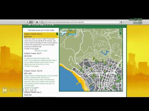 GTA 5 ONLINE HOW TO BUY PROPERTIES (HOUSES,PENTHOUSES,GARAGES) GTA V MULTIPLAYER