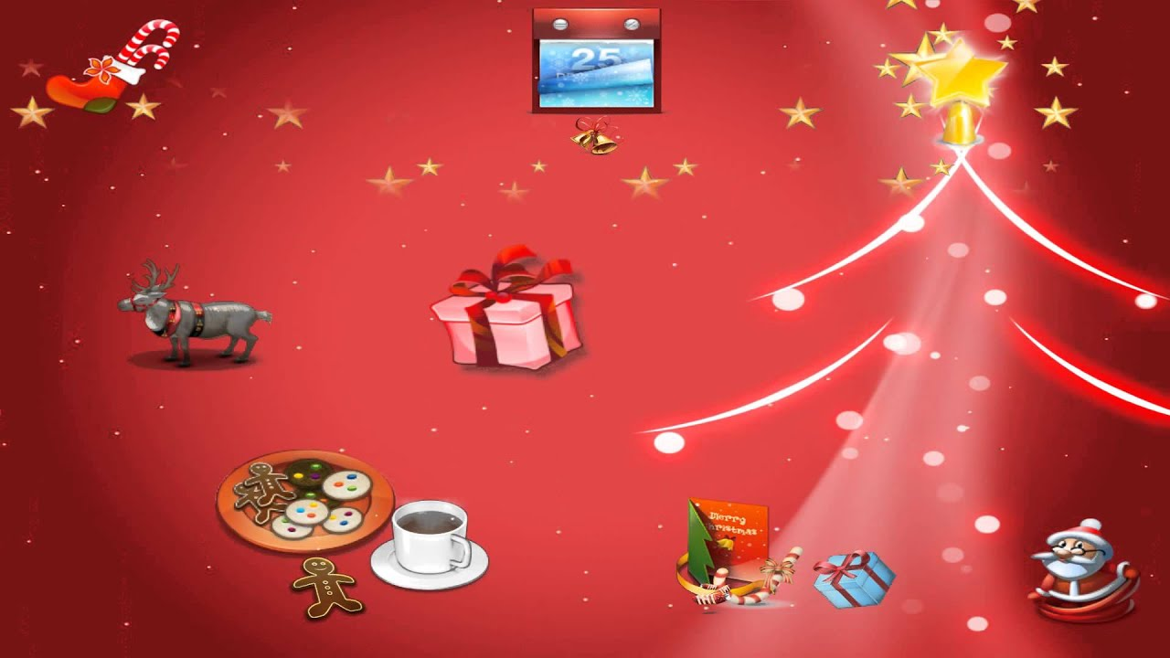 merry christmas animated wallpaper 20 httpwwwdesktopanimatedcom youtube - Animated Christmas Wallpaper