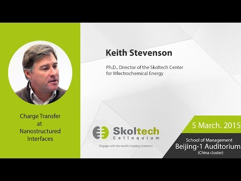 Skoltech Colloquium: Charge Transfer at Nanostructured Interfaces with Prof Stevenson, 05.03.2015