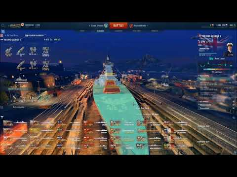 [World of Warships] Sea Trials: King George V