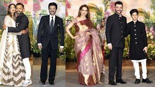Bollywood Celebs At Sonam Kapoor & Anand Ahuja's Wedding Reception