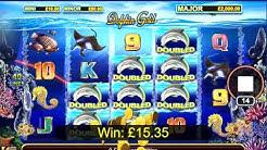 Watch Me Play Stella Jackpots Dolphin Gold - Win Mini Jackpot
