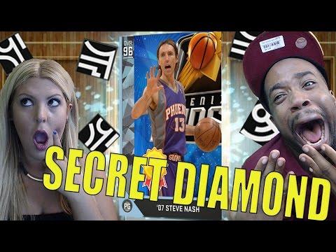 DIAMOND STEVE NASH PACK OPENING! SECRET BLACK MARKET RUNES! NBA 2k16 MyTeam