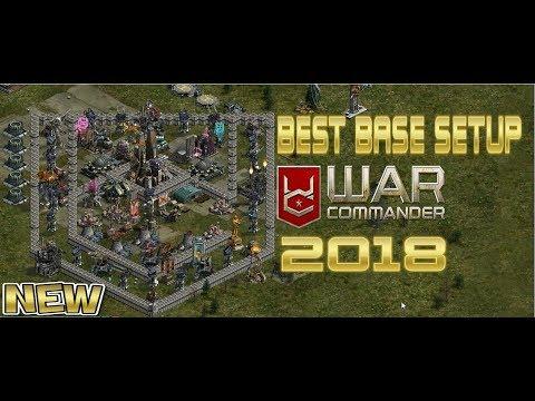 BEST BASE SETUP 2018 - WAR COMMANDER BADGE EDITION