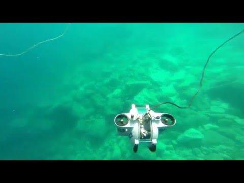 Deep Trekker's Underwater Aquaculture Drone