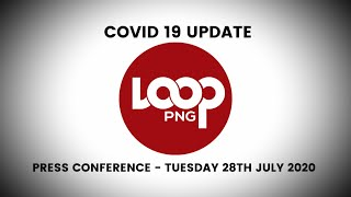 PNG Covid 19 Update Tuesday 28 July 2020