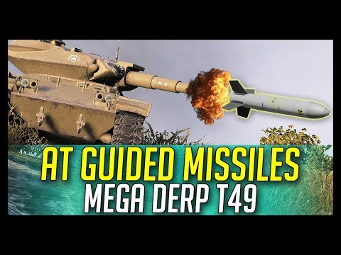 ► Anti-Tank Guided Missiles ? Derp! - World of Tanks T49 Gameplay thumbnail