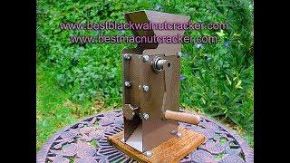 World's Best Hand Crank Macadamia Nut Cracker!! Www.hardnutstocrack.com