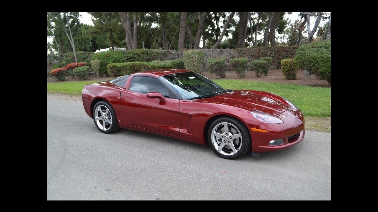 Z06 Corvette For Sale >> SOLD 2007 Chevrolet Corvette Coupe Monterey Red for sale by Corvette Mike Anaheim, CA 92807 ...
