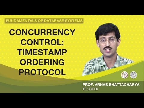 Concurrency Control: Timestamp Ordering Protocol