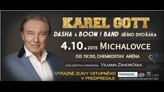 Karel Gott - Chemkostav Aréna 4.10.2015 (Úvod) časť.1