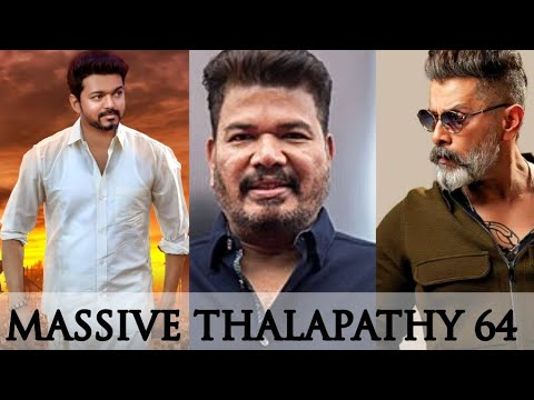 Massive: Thalapathy And Vikram In Shankar's Direction For Thalapathy 64 | Enowaytion Plus | Terrific