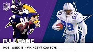 Randy Moss & Vikings Torch the Cowboys | Thanksgiving 1998 (FULL GAME) | NFL