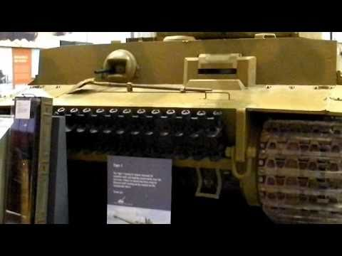 Save The Tiger Tank German Panzer VI. Restored, View Inside Engine Bay. Captured Afrika Korp