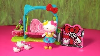 Hello Kitty Garden Tea Party A Hello Kitty Playset Toy