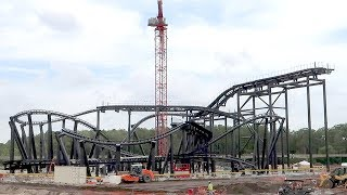 What's New At Disney's Magic Kingdom! | Tron Coaster Construction Update, New Treats & Merch!