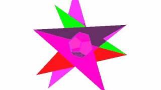 正十二面体の星型化(2)