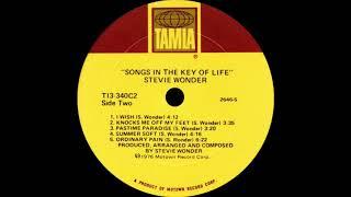Stevie Wonder - Knocks Me Off My Feet (Tamla Records 1976)