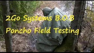 2Go Systems B O B Poncho Field Testing