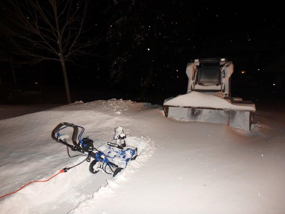 Snow Joe Hybrid Snowblower Review - YouTube