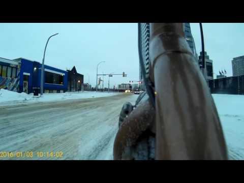 Winter Riding in Edmonton