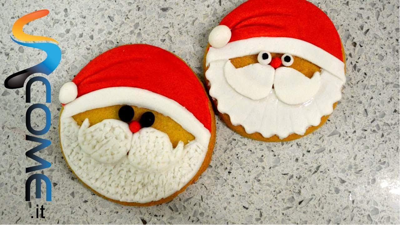 Biscotti a forma di Babbo Natale - YouTube 81e9b74fb06c