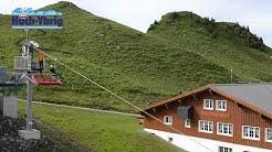 Die längste Seilrutsche (Seilfox) der Welt - Hoch-Ybrig