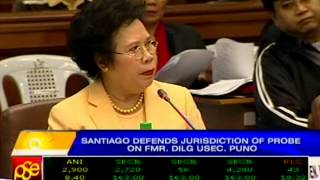 Sen. Santiago: I accuse my critics of illiteracy